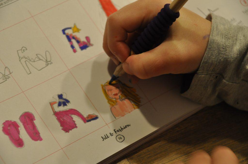 tekenen met jill