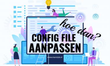 config file aanpassen