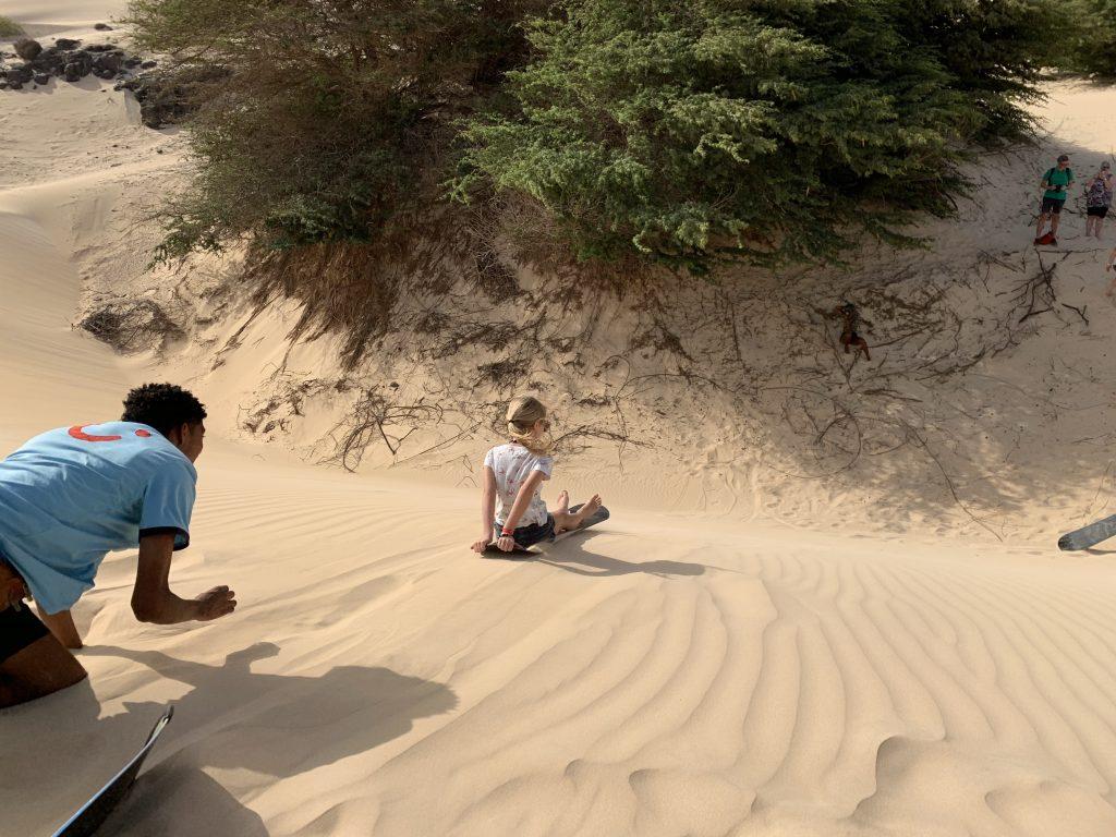 kaapverdie sandboarding
