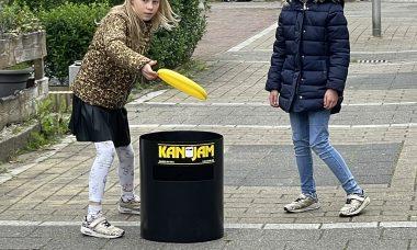 kanjam frisbee spel
